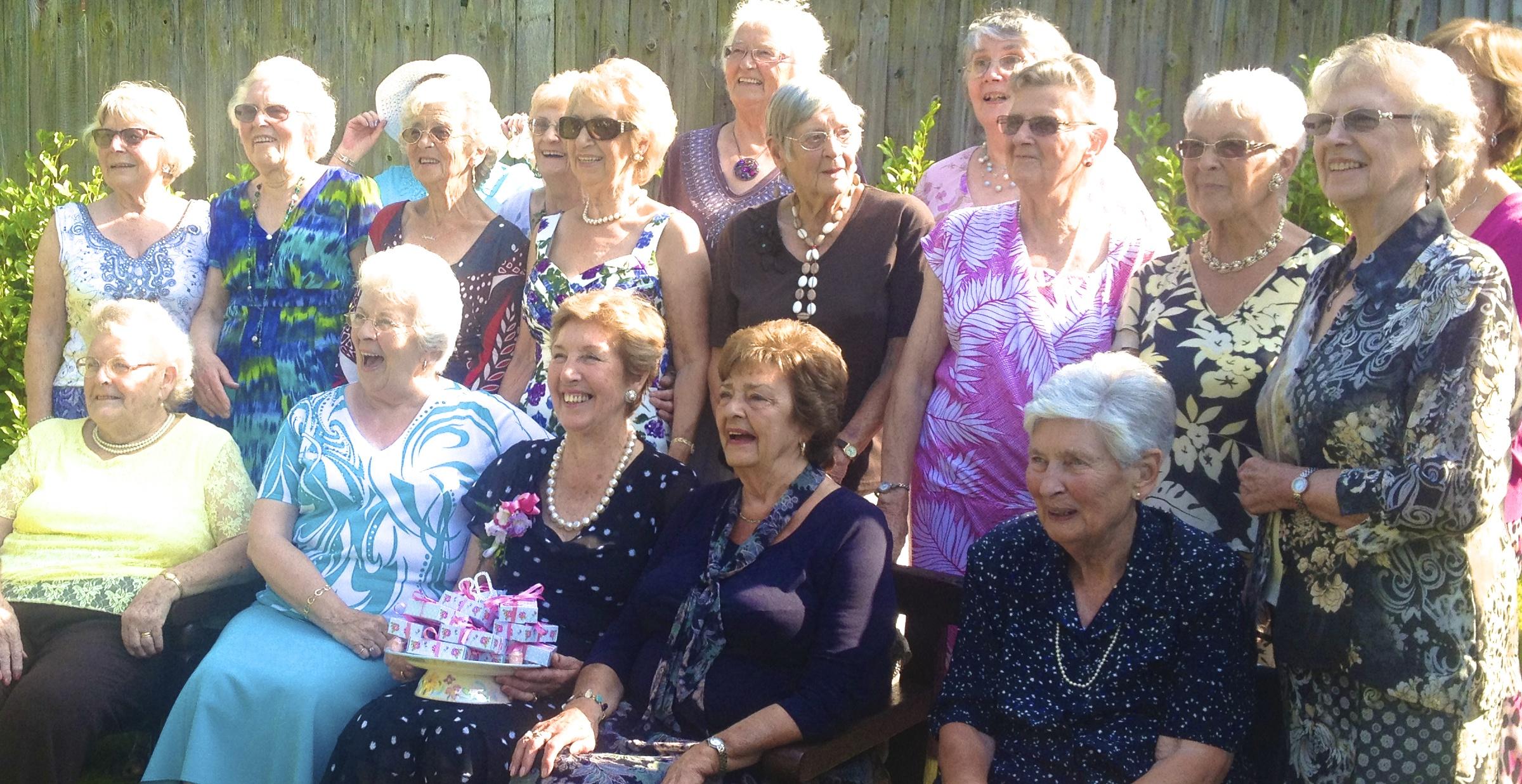 Group Of Older Women 81